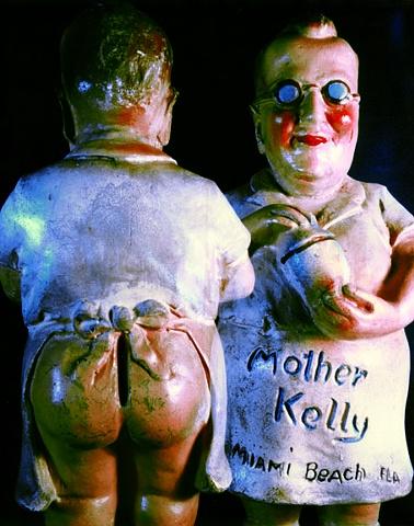 "Mother Kelly 1930s Polaroid pinhole photograph 1 pinhole camera 2005 10""x8"""