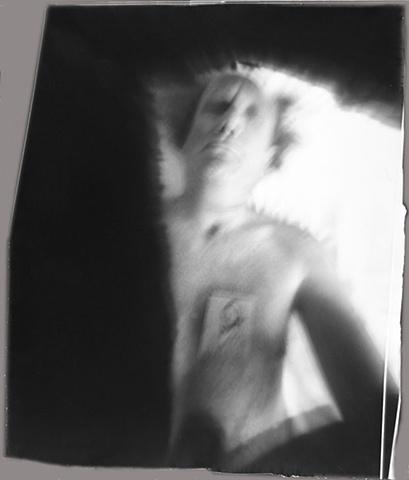 Self Portrait Sweatshirt pinhole camera Arles, 1996