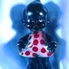 """Topsy Kewpie 1930s Polaroid pinhole photograph 1 pinhole camera 2005 10""""x8"""""""