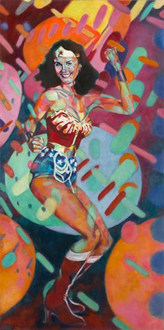 """Wonder Woman at the Disco"" --Prints Available--"
