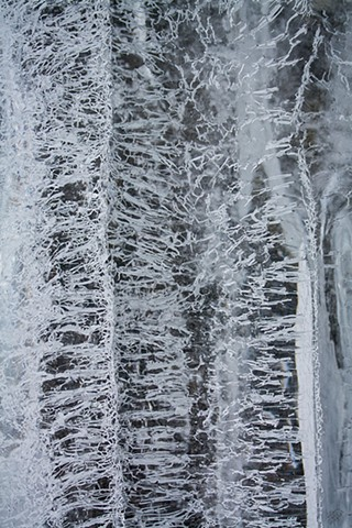 2011 Ice Catskill Mountain Winter Macro Photo