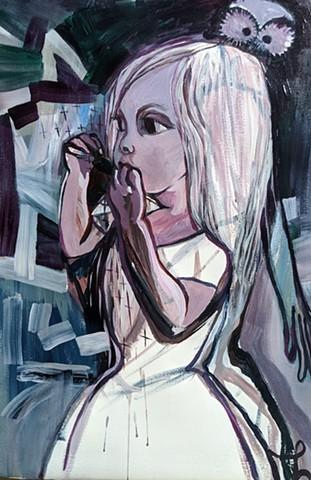 Portrait of Vivian stacynovakart