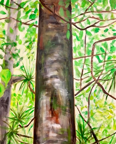 Inspired by a visit to a rainforest in Guanacaste, Costa Rica.