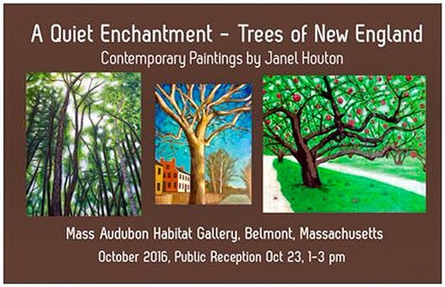 A Quiet Enchantment - Trees of New England - Painting Exhibit