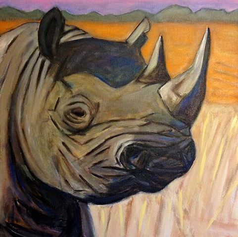 Right to Exist: Endangered Black Rhino