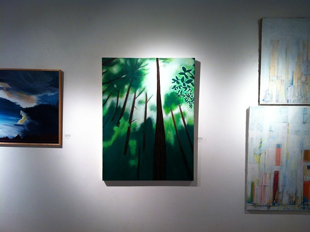 Landscape Show at the Stove Factory Gallery in Boston, Massachusetts