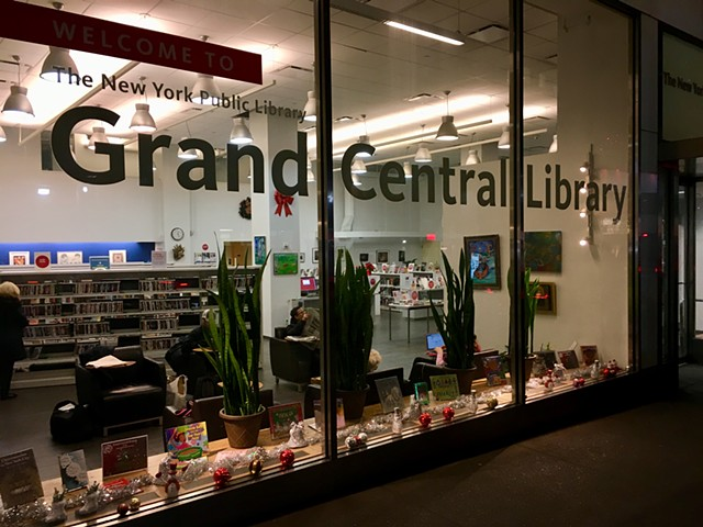 Art of the Story at the Grand Central Library, New York Public Library