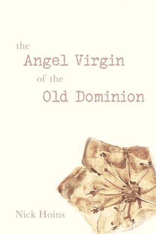 """""""The Angel Virgin of the Old Dominion,"""" by Nick Hoins, book cover"""