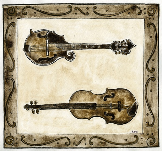 Mandolin and Fiddle