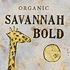 Savannah Bold coffee bag design