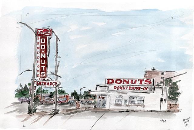 Donut Drive In