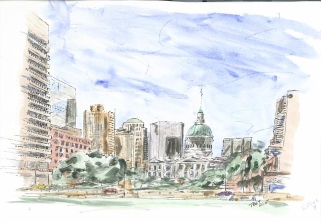 St Louis Arch  #4