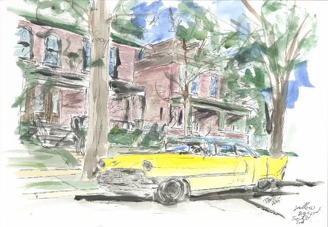 Yellow Car, South  St. Louis
