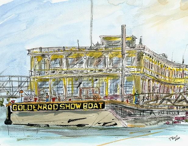 Goldenrod Showboat