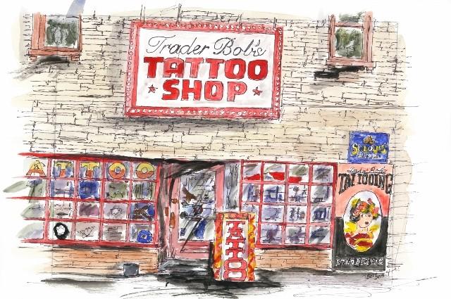 Trader Bob's Tattoo