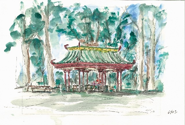 Tower Grove Park #10 Oriental Pavilian