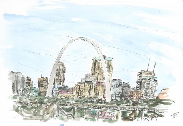 St.Louis Arch #3