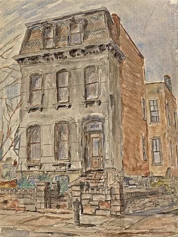 Lafayette Square #11 Lemp Street House