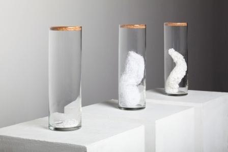 conceptual art with paper, sculpture