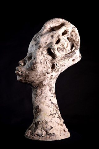 Prehistoric Woman (side view)