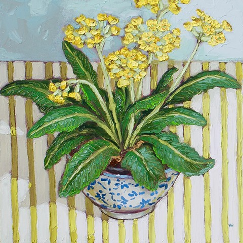 Cowslips in a rice bowl
