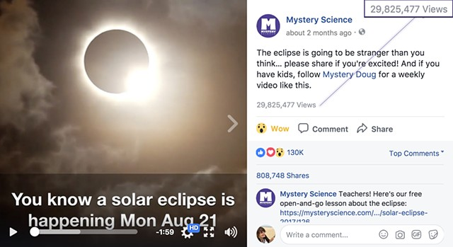 Viral Explainer Video on 2017 Solar Eclipse: 29.8 million views