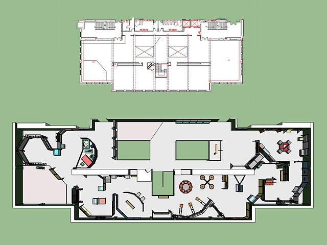 """Nature Unleashed"" Floorplan 3D Model"