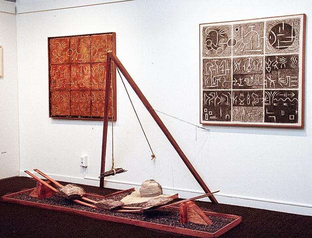 mixed mediat constructivist sculpture