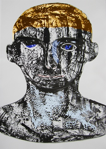 warrior, still image from a hybrid video, Argonauts