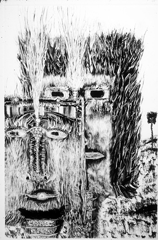 monotype, Sentient Beings Series
