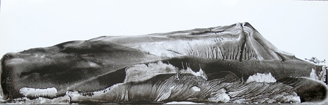 Sumi ink landscape