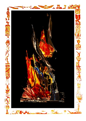digital print from the Eternal Flame Series