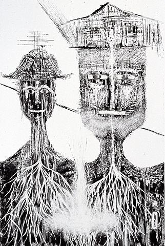 monotype, Sentient Beings Series