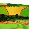 Feudal Landscape IX  copyright Othmar Tobisch