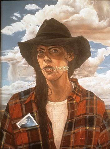Wyoming Self Portrait