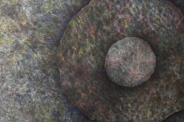 detail from Untitled (Hole)