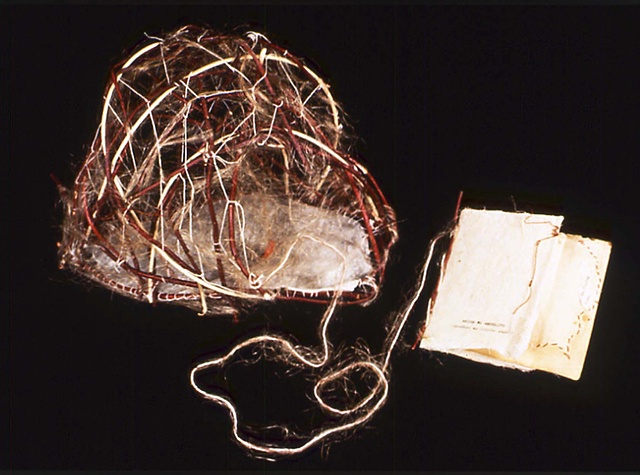 fiber art, miscarriage, artist's book, soft sculpture,