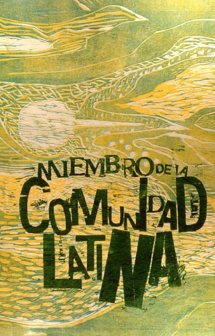 comunidad latina, poster, inmigración to the USA