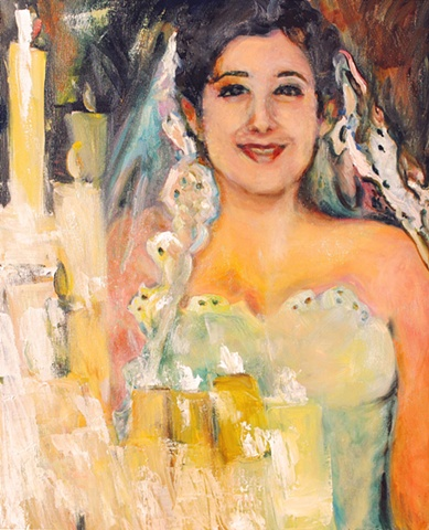 Wedding Portraits Paintings Dallas Texas