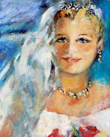 wedding paintings portraits bridal paintings