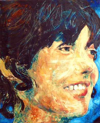 Encaustic Portrait Commissions Dallas Texas Patty Rooney