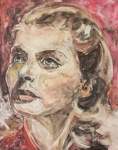 Ingrid Bergman female portrait old hollywood