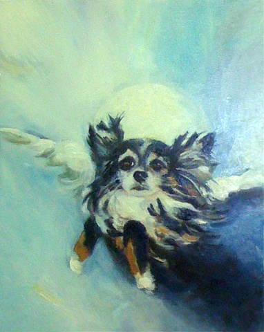 Patty Rooney animal portrait artist Dallas