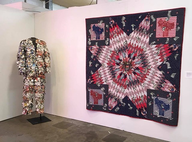 eXtreme fiberart exhibition at the ideaXfactory