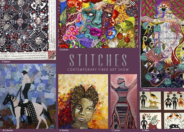 Review of Stitches Contemporary Fiberart Show