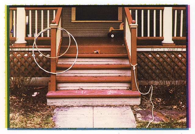 Stoop with Hula Hoops