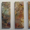chaotic lace tryptych