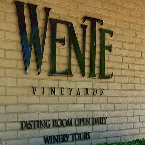 Wente Outside Wall