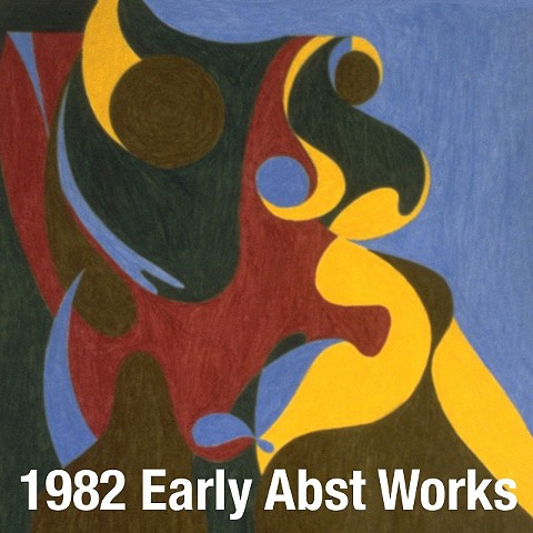 1982 Early Works - Abstract Drawings