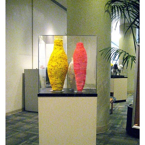 2009 Plastic works on display at Alta Bates